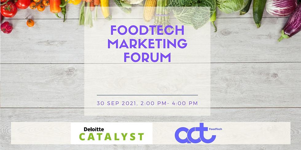 Foodtech Marketing Forum