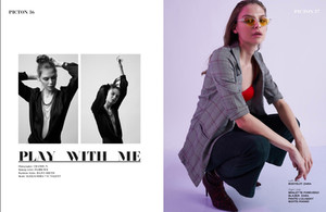 Play with me - piction magazine