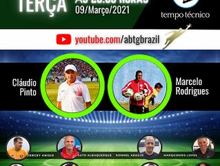 Cláudio Pinto e Marcelo Rodrigues no TEMPO TÉCNICO