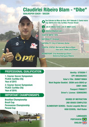 Treinador de Goleiros - Dibe Blam - ABTG Brazil