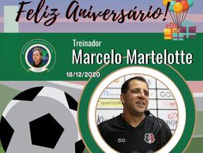 Parabéns Marcelo Martelotte pelo seu aniversário!