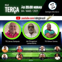 Jonas Sampaio e Gilmar Gomes no TEMPO TÉCNICO