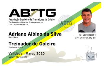Treinador de Goleiros - Adriano Albino - ABTG Brasil