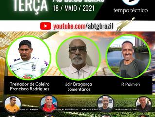 Treinador Rodrigues no TEMPO TÉCNICO