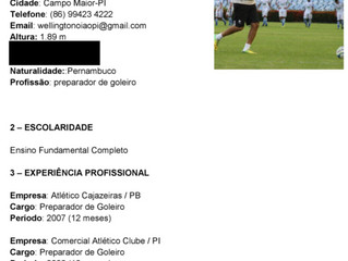 Preparador de Goleiros Wellington Morais - ABTG Brazil