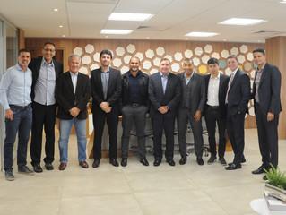 ABTG participa do encontro de classes na Federação Paulista de Futebol.