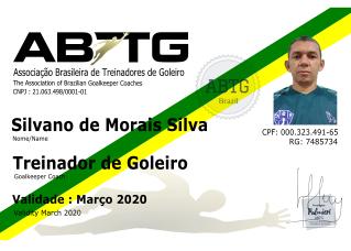 Silvano de Morais (Prof.Austrália) - Preparador de Goleiros - ABTG Brasil