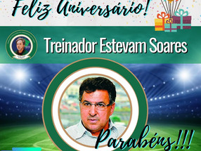 Estevam Soares FELIZ ANIVERSÁRIO