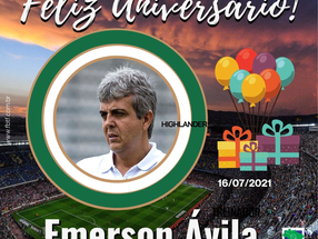 FELIZ ANIVERSÁRIO Emerson Ávila