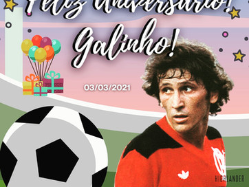FELIZ ANIVERSÁRIO GALINHO!