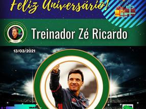 Treinador Zé Ricardo.. FELIZ ANIVERSÁRIO!