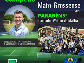 William de Mattia, Parabéns!