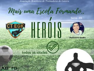 Centro de Treinamento Erasmo Goalkeeper - Serra - ES -                   Todas as Idades!