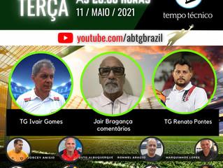 Renato Pontes e Ivair Gomes no TEMPO TÉCNICO