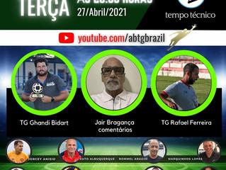 Rafael Ferreira e Ghandi Bidart no TEMPO TÉCNICO