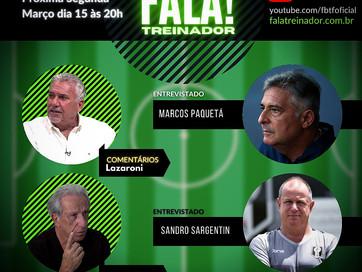 Marcos Paquetá e Sandro Sargentim no Tempo Técnico!
