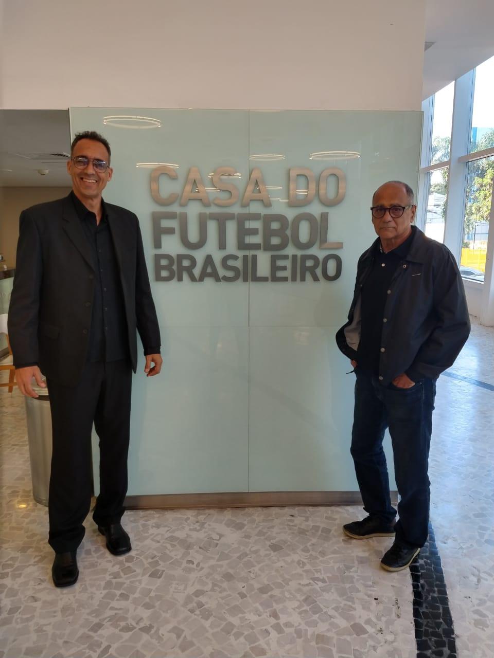 ABTG ENVIA PROPOSTAS A CBF . Palmieri e Jair Bragança