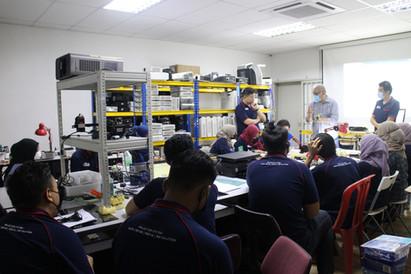Up-skilling Training & Sharing