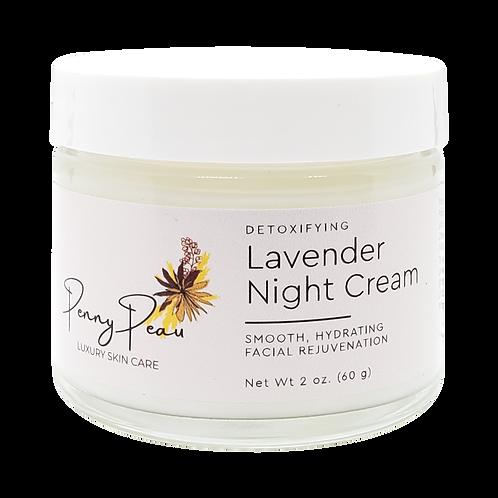 Detoxifying Lavender Night Cream
