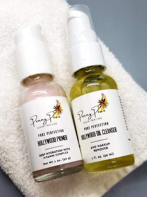 Pore- Perfecting: Hollywood Primer & Oil Cleanse