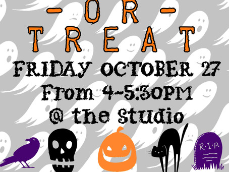 Trunk or Treat is Coming !!!