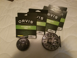 Orvis Reels and Fly Line