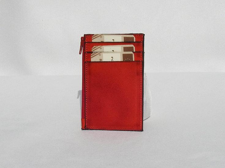 Credit card portamonete