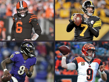 2020 NFL Quarterback Rankings by Division (AFC North Edition)