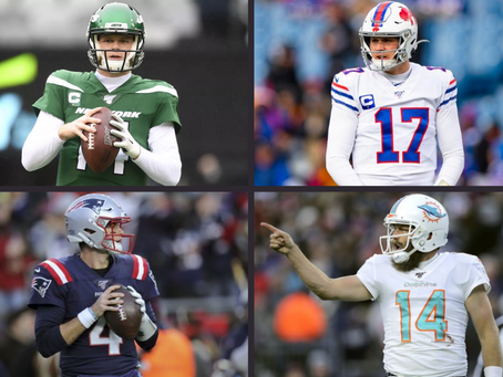 2020 NFL Quarterback Rankings by Division (AFC East Edition)