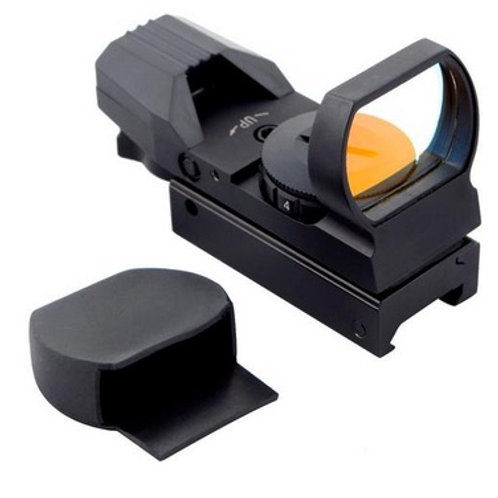TPA Red Dot Reflex Sight with 4 Reticles and 7 Levels of Brightness