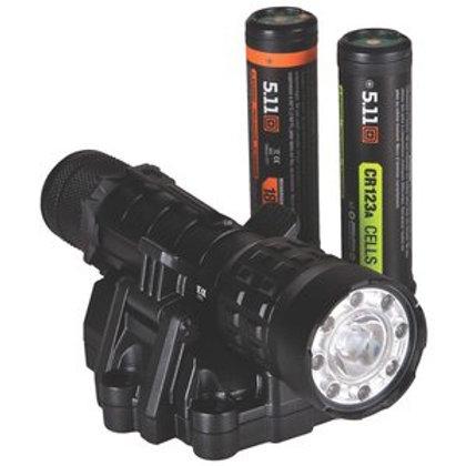 "5.11 Tactical 6.1"" Black Aluminum High Powered TMT R3MC Flashlight"