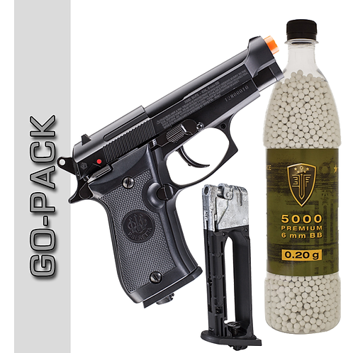 Beretta M84 CO2 Blowback Pistol Package Deal