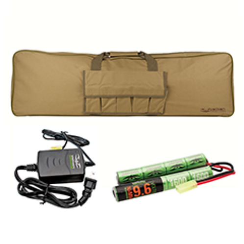 Valken Energy Battery, Smart Charger, and Gun Bag