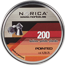 Norica .25 200ct Series Pellets