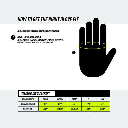 V-TAC Full Finger Plastic Back Gloves