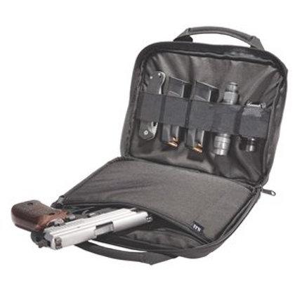 5.11 Tactical Black Nylon Zip Closure Single Pistol Case