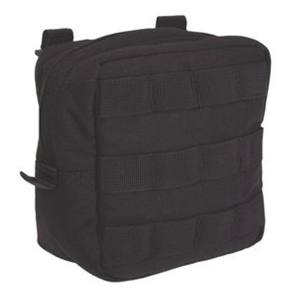 5.11 Tactical Black Nylon Zip Closure 6.6 Padded Pouch