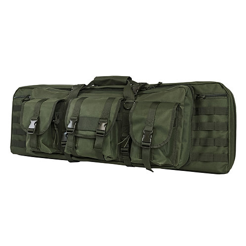 VISM® by NcSTAR® DOUBLE CARBINE CASE/GREEN/36 IN