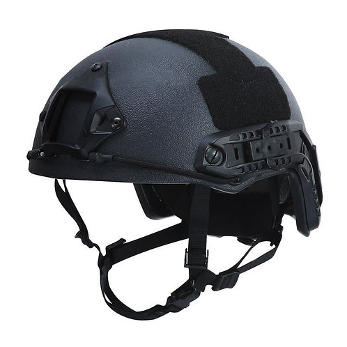 Tactical Airsoft Helmet (MICH Ballistic Type / Advanced / Black / Medium-Large)