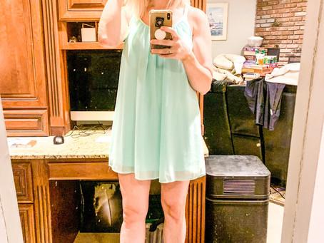 Little Turquoise Dress