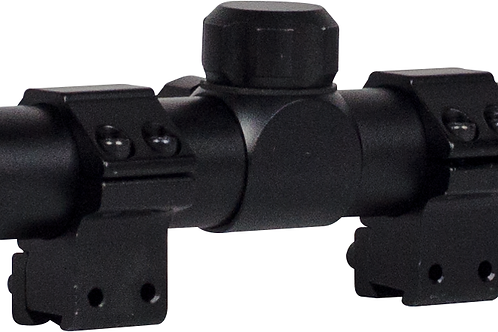 AirgunOptics - Valken Airgun Scope 4 x 32 w/Rings (11mm DT) Scope with