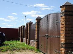 забор из блоков, заборы рязань, кирпичный забор, установить забор, заборы из камня, капитальные заборы, заборы на ленточном фундаменте, фундамент для забора