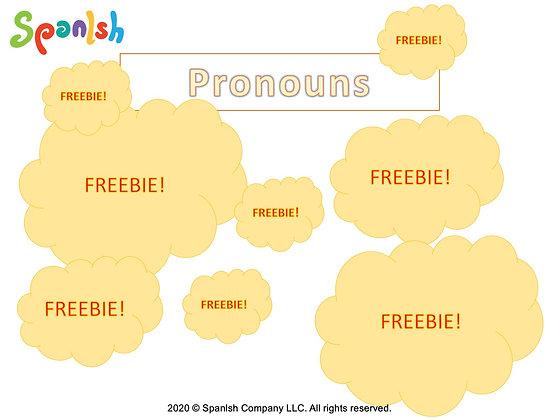 Pronoun Activities (English)