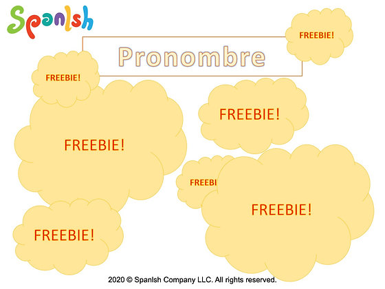 Pronoun Activities (Spanish)