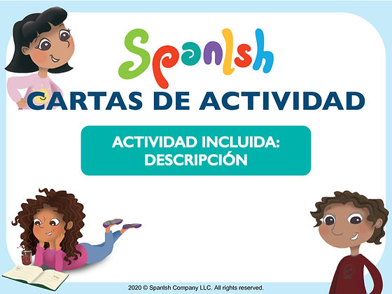 Activity Cards: Descriptions & Vocabulary (Spanish)