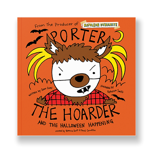 Porter the Hoarder and the Halloween Happening - Perfect Paperback