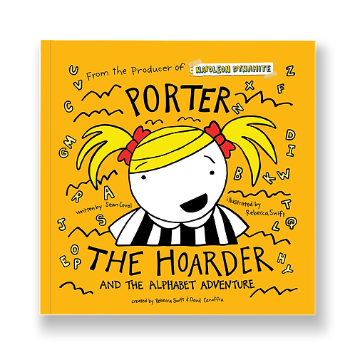 Porter the Hoarder and the Alphabet Adventure