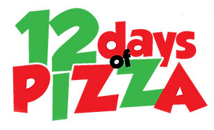 12 Days of Pizza, Logo, Home