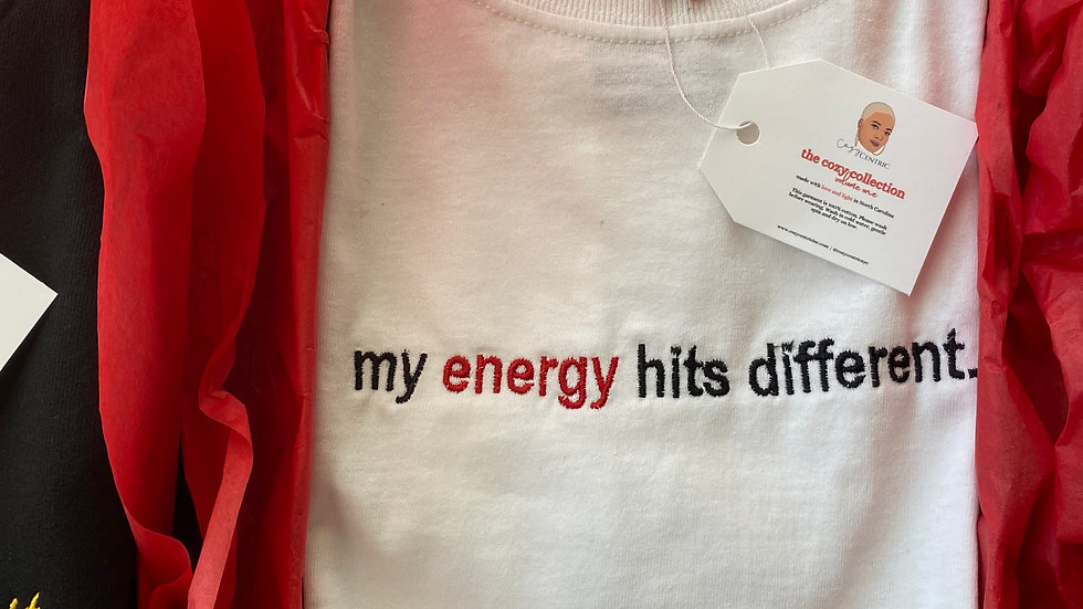 My energy hits different SHIRT