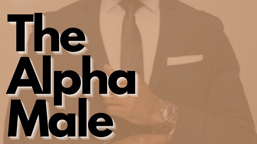 The Alpha Male